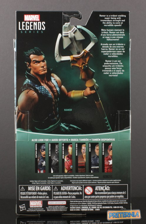 Hasbro Marvel Legends Namor Walgreens Exclusive Review