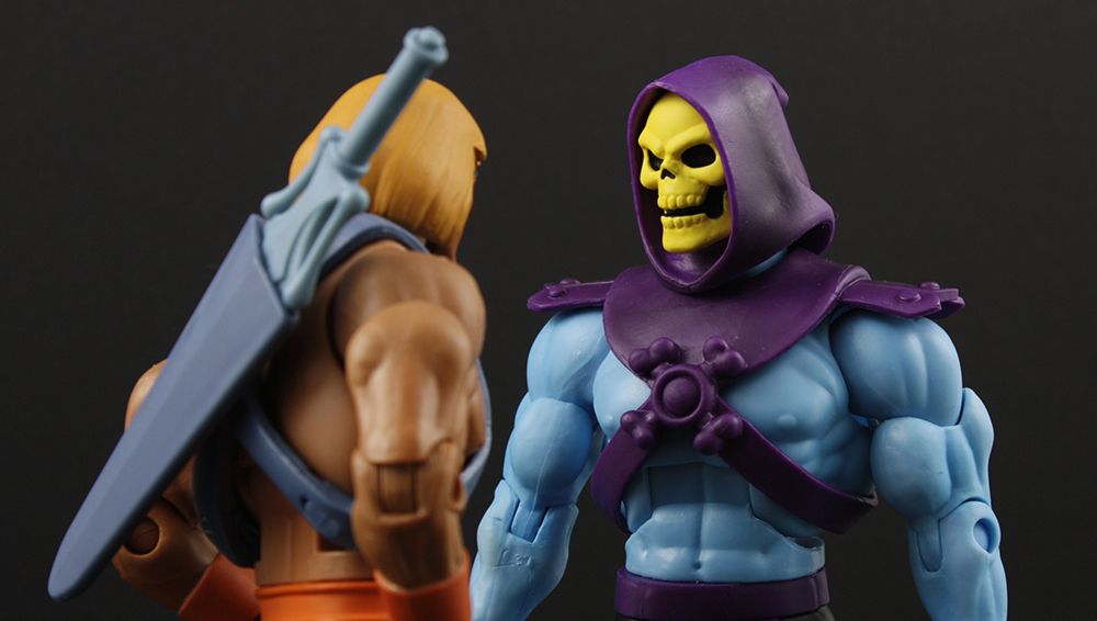 Mattel MOTUC Filmation Skeletor Club Grayskull Review