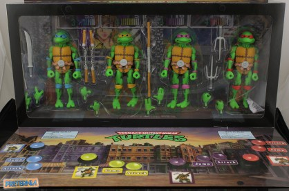 NECA TMNT Arcade Box Set SDCC 2016 Exclusive Review