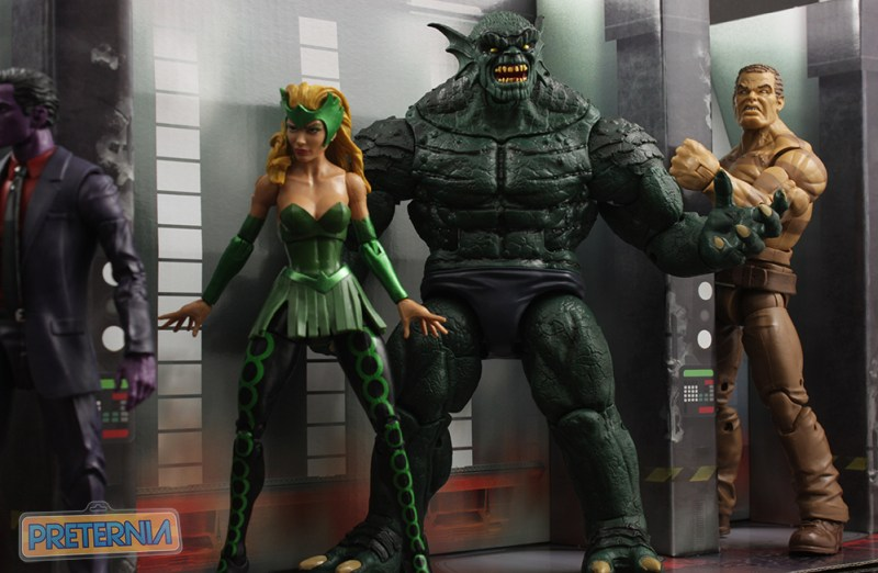 Marvel Legends The Raft Review SDCC