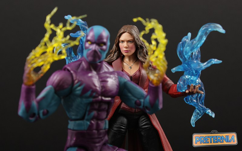 Hasbro Marvel Legends Eel Scarlet Witch Top Ten List 2016