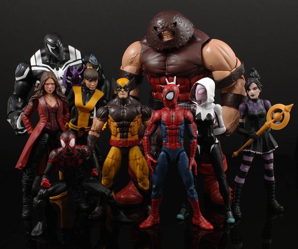 Hasbro Marvel Legends Top Ten List 2016