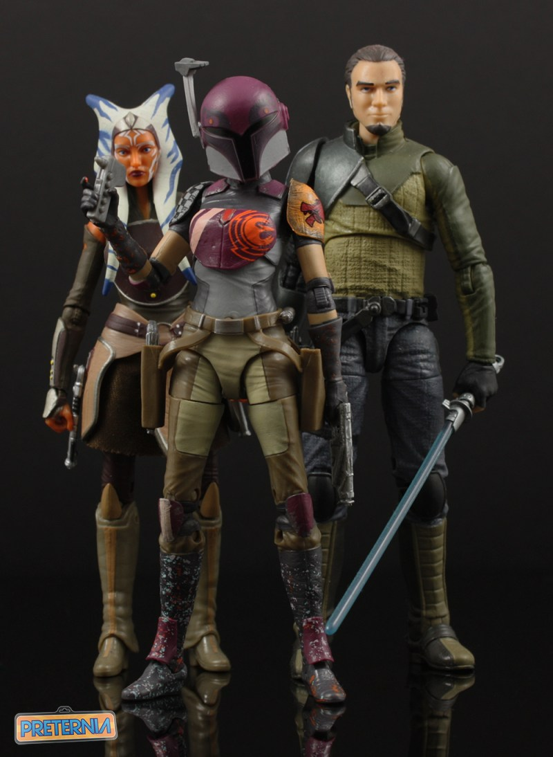 Hasbro Star Wars Black #33 Sabine Wren Six-Inch Review