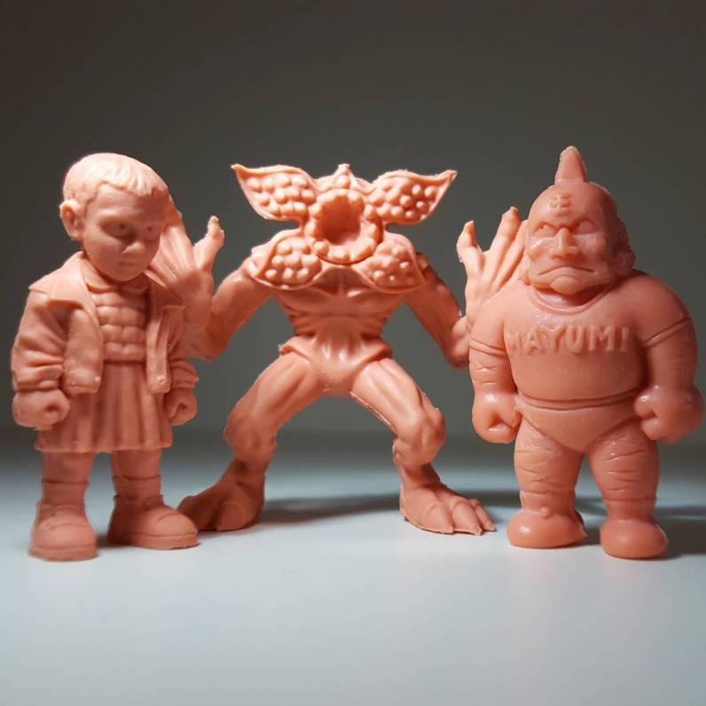 Stranger Things M.U.S.C.L.E. Mini Figures Eleven Demogorgon
