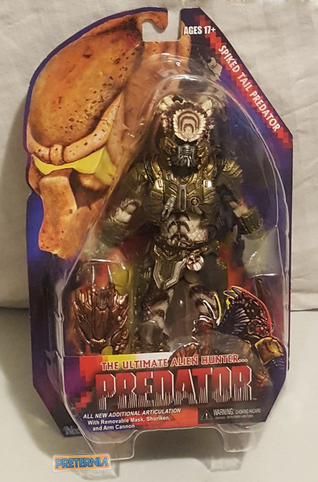 NECA Predator S16 Spike Tail Predator Review