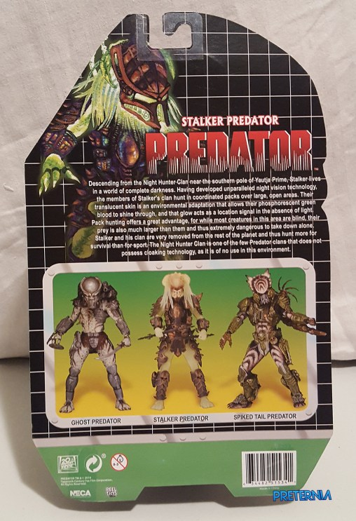 NECA Predator Series 16 Kenner Stalker Predator Review