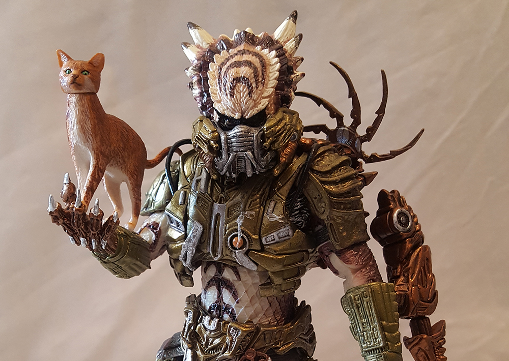 NECA Predator S16 Kenner Spike Tail Predator Review