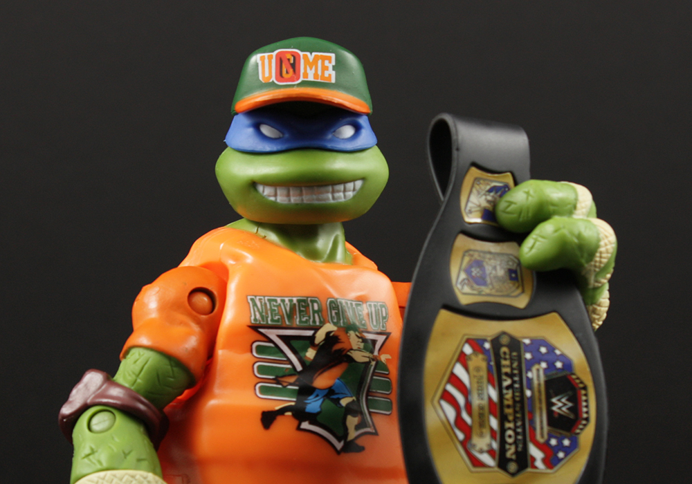 Playmates TMNT WWE Ninja Superstars Review