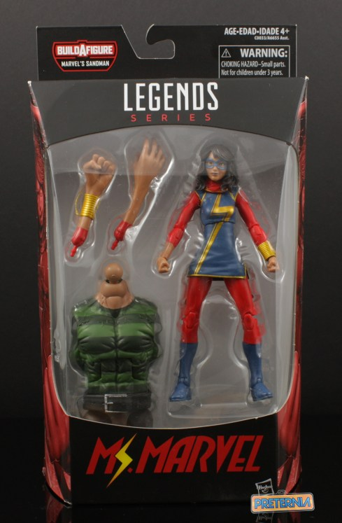 Hasbro Marvel Legends Sandman Series Ms. Marvel Review