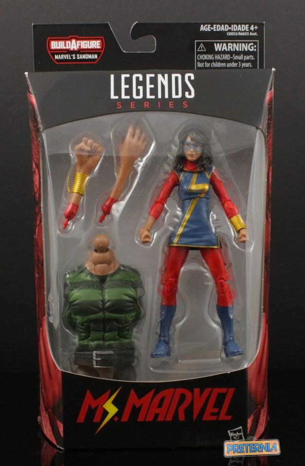 Hasbro Marvel Legends Sandman Series Ms. Marvel Review