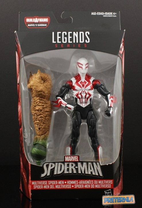 Hasbro Marvel Legends Sandman BAF All New All Different Spider-Man 2099 Review