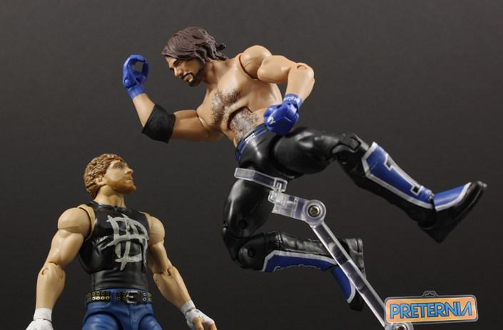 Mattel WWE Elite Series 47 AJ Styles Review
