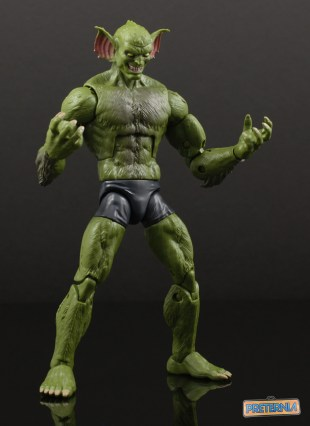 Hasbro Marvel Legends Sandman BAF Jackal Review