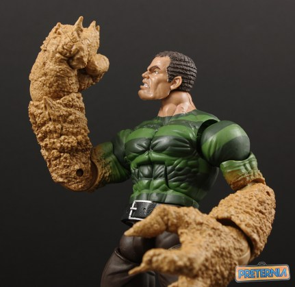 Hasbro Marvel Legends Sandman BAF Build-A-Figure Review