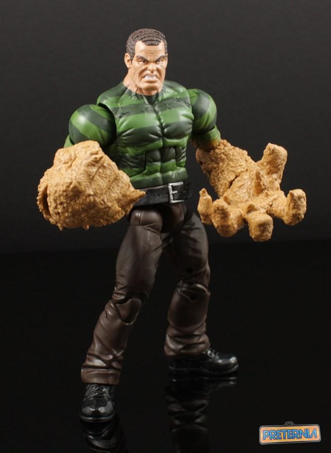 Hasbro Marvel Legends Sandman BAF Build-A-Figure Review