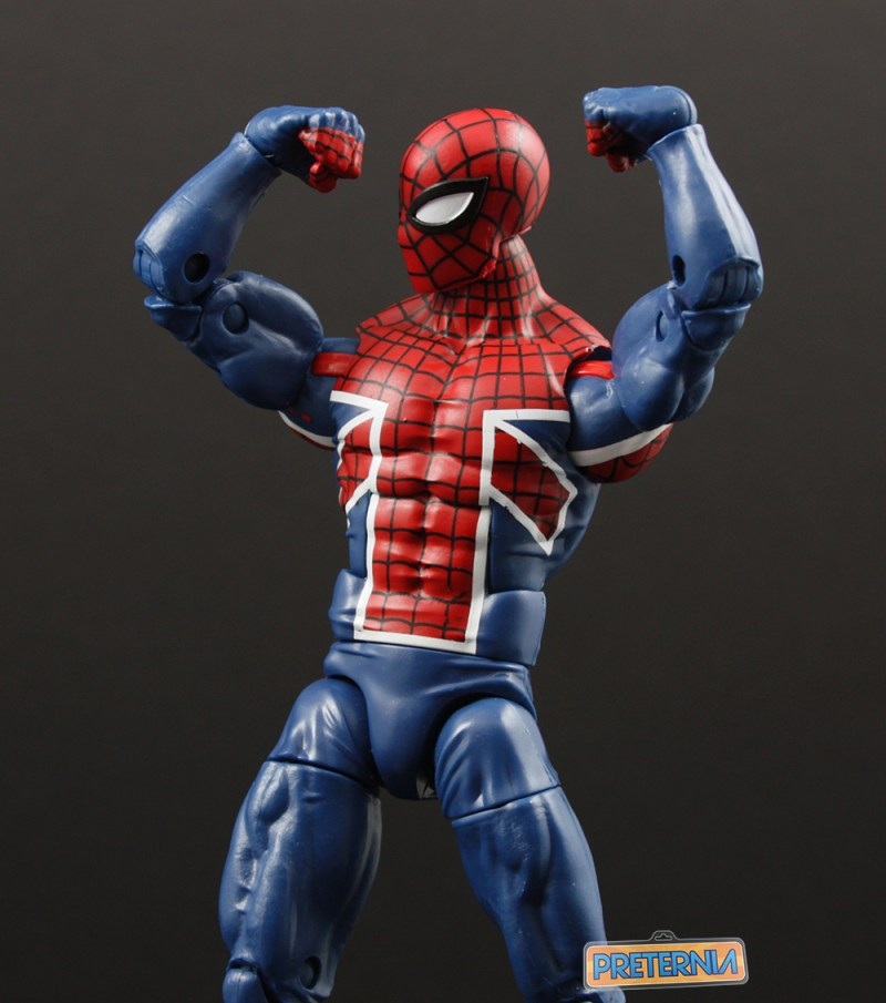 Hasbro Marvel Legends Sandman BAF Spider-UK Review
