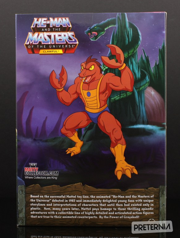 Mattel MOTUC Filmation Clawful Club Grayskull Review