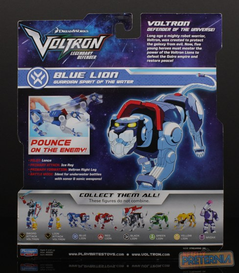 Playmates Voltron Legendary Defender Basic Review