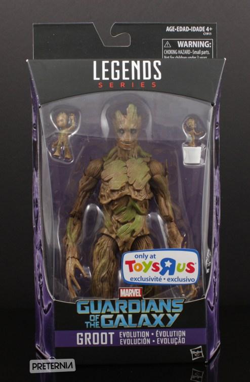 Hasbro Marvel Legends Groot Evolution GOTG Review