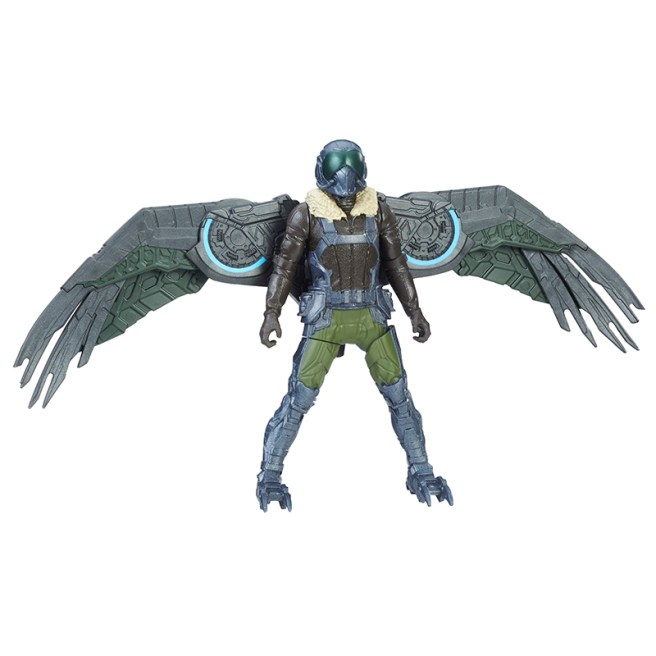 SPIDER-MAN HOMECOMING 6-INCH FEATURE Figure Assortment (Marvels Vulture)