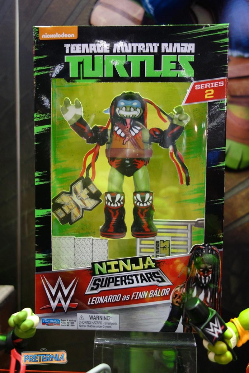 Toy Fair 2017 Playmates TMNT WWE