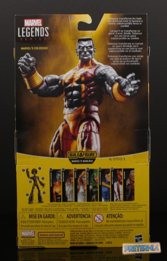 Hasbro Marvel Legends Warlock Series Colossus Review