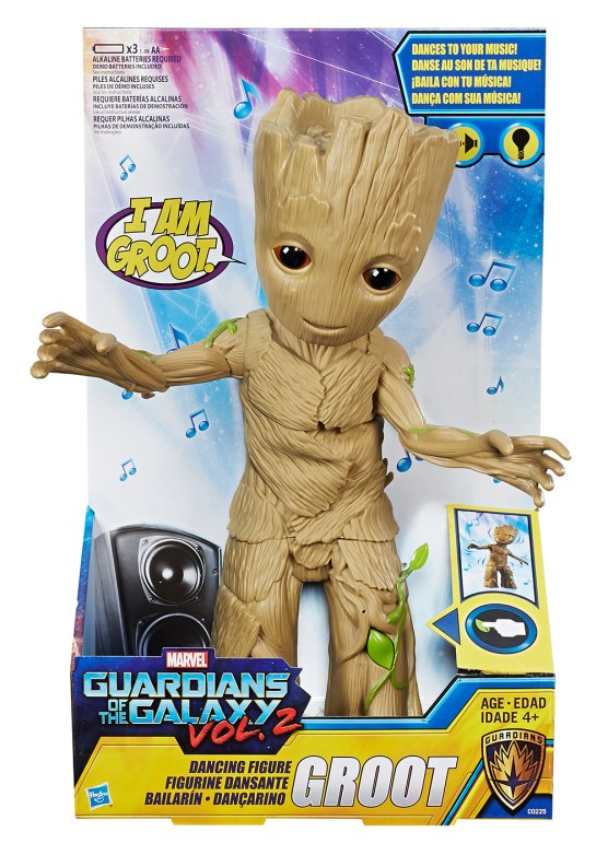 MARVEL GUARDIANS OF THE GALAXY VOL. 2 DANCING GROOT Figure - in pkg