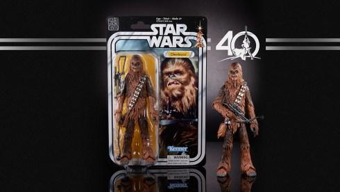 STAR WARS THE BLACK SERIES 6-INCH 40th ANNIVERSARY - Chewbacca (in pkg)
