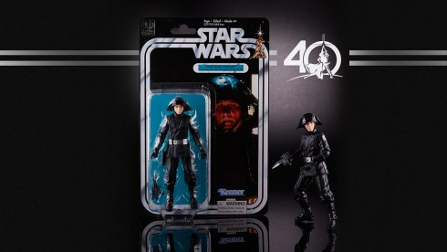 STAR WARS THE BLACK SERIES 6-INCH 40th ANNIVERSARY - Death Squad Commander (in pkg)