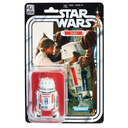STAR WARS THE BLACK SERIES 6-INCH 40th ANNIVERSARY Game Stop Exclusive - R5-DR (in pkg)
