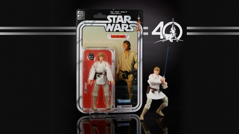 STAR WARS THE BLACK SERIES 6-INCH 40th ANNIVERSARY - Luke Skyewalker (in pkg)