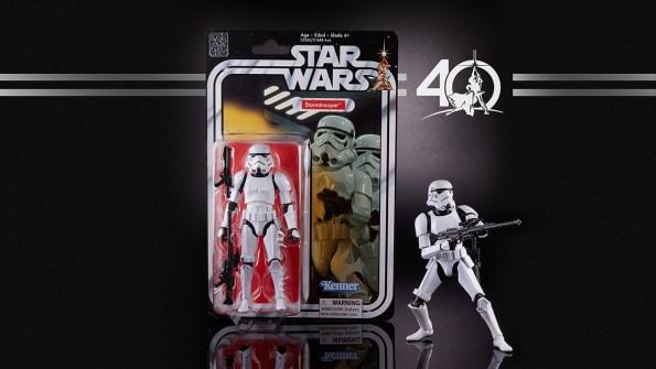 STAR WARS THE BLACK SERIES 6-INCH 40th ANNIVERSARY - Stormtrooper (in pkg)