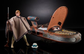 STAR WARS THE BLACK SERIES X-34 LANDSPEEDER & 6-INCH LUKE SKYWALKER - SDCC Exclusive (3)