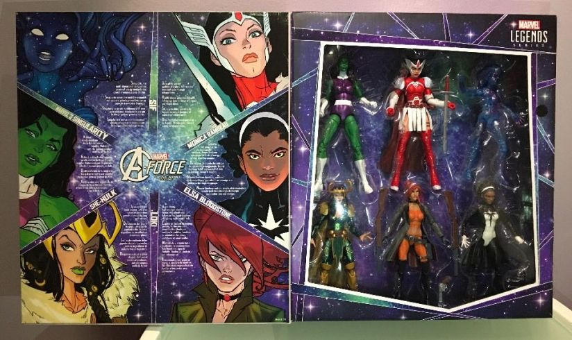 Hasbro Marvel Legends A-Force Box Set
