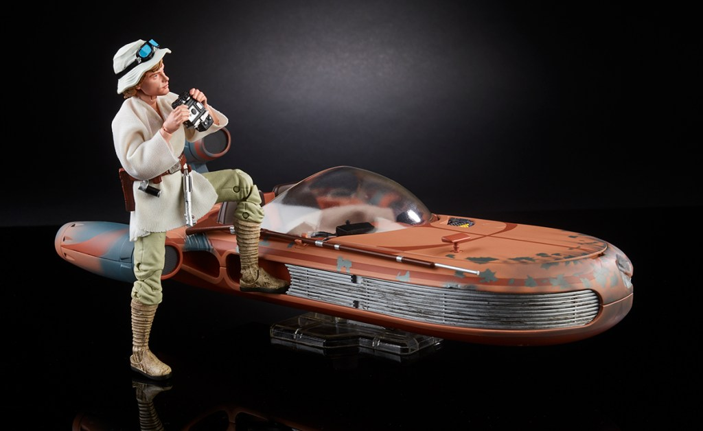 Hasbro Star Wars Black Series Luke Speeder
