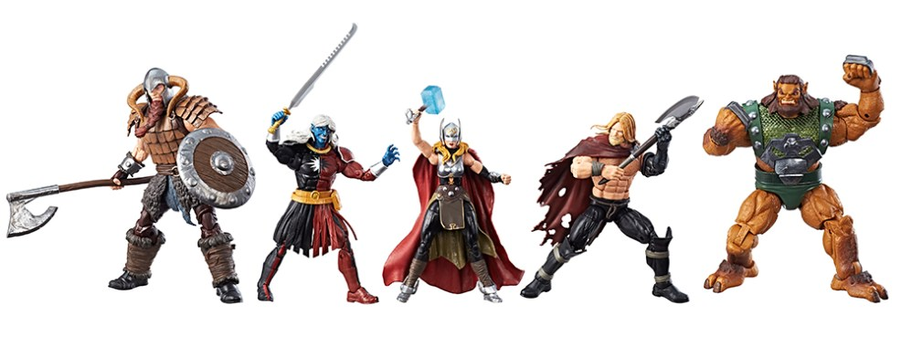 SDCC 2017: Hasbro Reveals Marvel Legends Battle for Asgard 5-Pack!