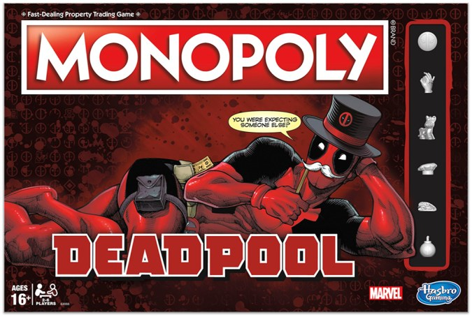 Deadpool Monopoly - in pkg
