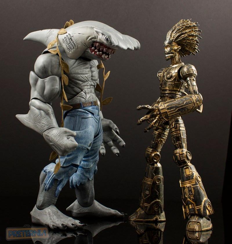 Mattel DC Multiverse King Shark Build-A-Figure Review