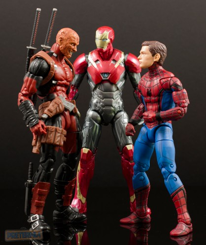 Marvel Legends Spider-Man Homecoming Iron Man Two-Pack Review