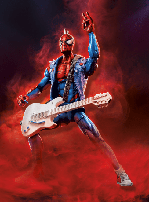 Marvel Spider-Man Legends Series 6-inch Spider Punk