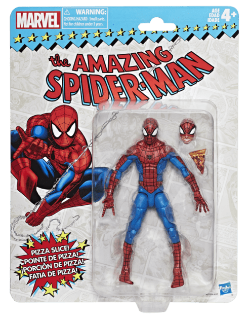 Marvel Vintage Legends Series 6-inch Spider-Man