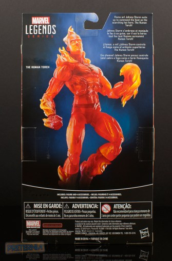Hasbro Marvel Legends Walgreens Fantastic Four Human Torch Review