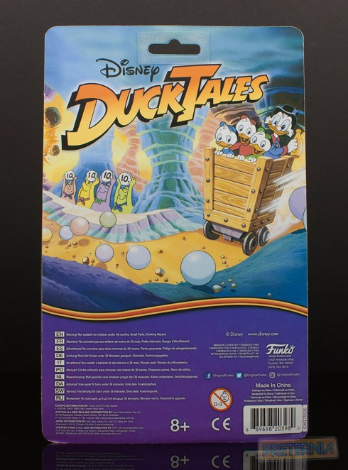 Funko Disney Afternoon Ducktales Scrooge McDuck Review