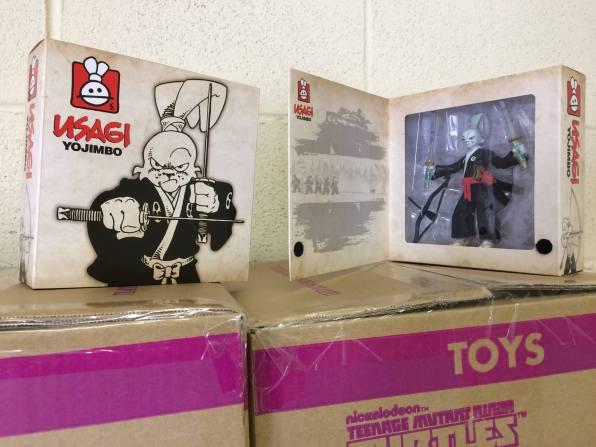 Playmates TMNT Stan Sakai Usagi Yojimbo Exclusive