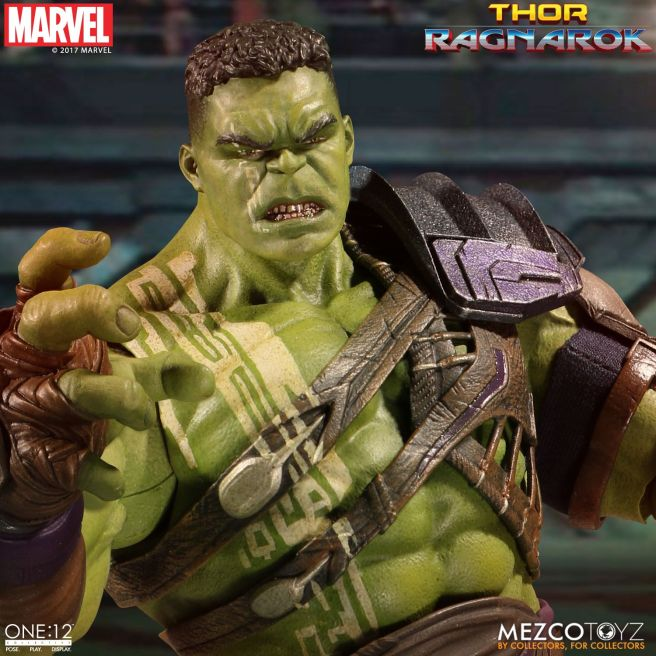 Mezco: One:12 Ragnarok Hulk Available for Preorder
