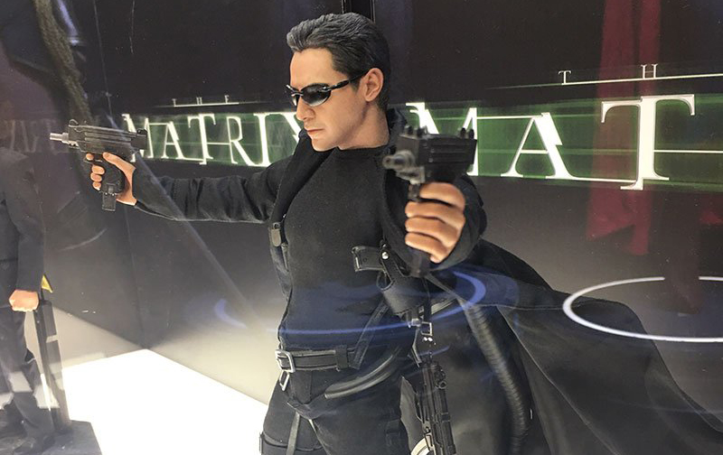Tokyo Comic Con 2017: Hot Toys The Matrix Neo and Agent Smith