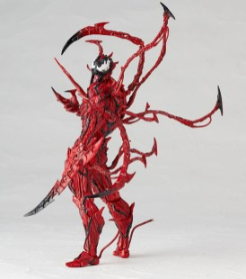 Kaiyodo: Amazing Yamaguchi No.008 Carnage Official Pics And Preorders Open
