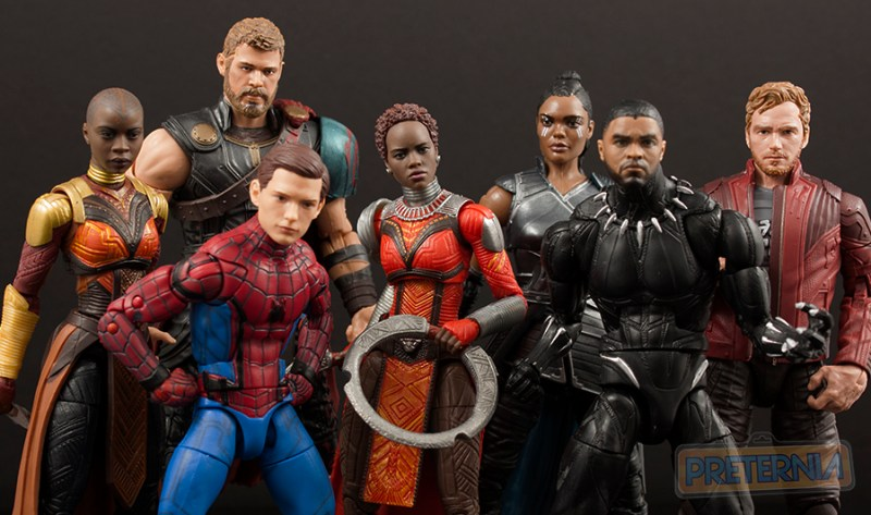 Top 10 Hasbro Marvel Legends of 2017 Face Printing
