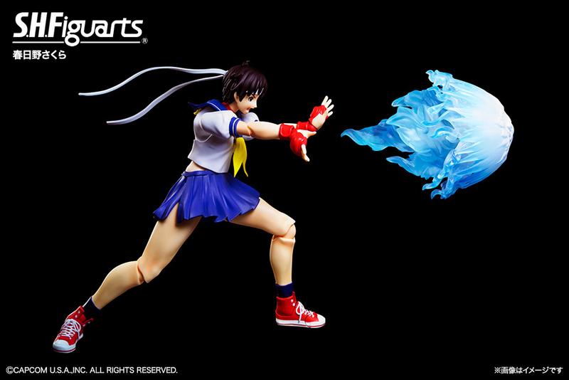 Bandai: Street Fighter S.H. Figuarts Ken and Sakura Announced