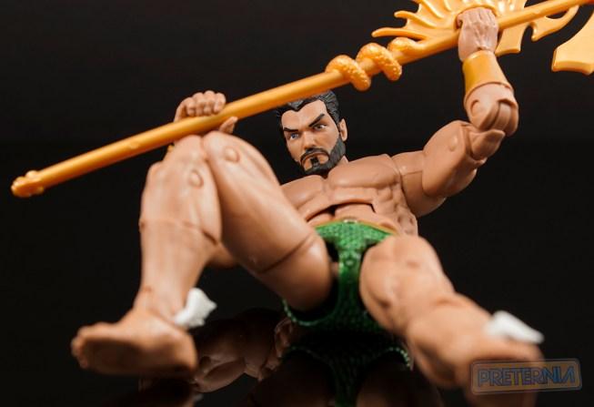Marvel Legends Black Panther Okoye Series Namor the Sub-Mariner Review
